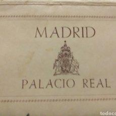 Postales: ABANICO DE POSTALES A COLOR DEL PALACIO REAL. Lote 197391042