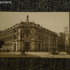 Postales: POSTAL MADRID BANCO DE ESPAÑA M PALOMEQUE TRANVÍA GENTE PERSONAS. Lote 197649202
