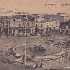 Postales: MADRID - GLORIETA DE RUIZ GIMENEZ. Lote 197664336
