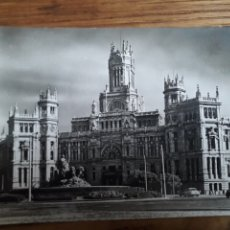 Postales: P-11083. POSTAL FOTOGRAFICA MADRID, PALACIO DE COMUNICACIONES. LA CIBELES. S.XX.. Lote 198213866