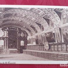 Postales: POSTAL ANTIGUA- MONESTERIO DE EL ESCORIAL- 7- SACRISTIA. Lote 198549721