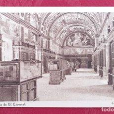 Postales: POSTAL ANTIGUA- MONESTERIO DE EL ESCORIAL- 9 - SALAS CAPITULARES. Lote 198550302