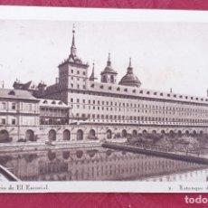 Postales: POSTAL ANTIGUA- MONESTERIO DE EL ESCORIAL- 2- ESTANQUE DE LA HUERTA . Lote 198551360