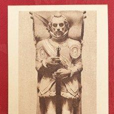 Postales: POSTAL ANTIGUA- EL ESCORIAL- 20 - ESTATUA DE D. JUAN DE AUSTRIA. Lote 198551520