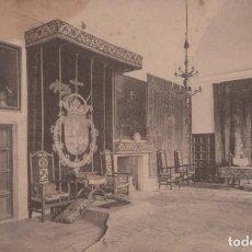 Postales: POSTAL EL ESCORIAL - PALACIO REAL - HABITACIONES FELIPE II - PALOMEQUE. Lote 198562306