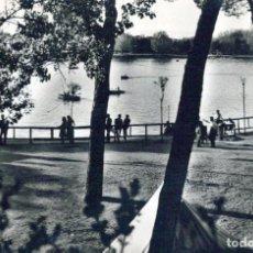 Cartes Postales: POSTAL DE MADRID -LAGO DE LA CASA DE CAMPO. 96 HELIOTIPIA. Lote 198600413