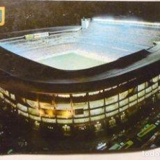 Postales: POSTAL MADRID-ESTADIO FUTBOL S.BERNABEU -CIRCULADA. Lote 198766667