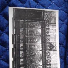 Postales: 0408 MADRID. SAN FRANCISCO EL GRANDE. SILLERÍA DEL PRESBITERIO LOTY FOTÓGRAFO.. Lote 199405185