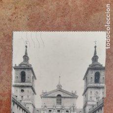 Postales: POSTAL SAN LORENZO DE EL ESCORIAL, AÑO 1927. Lote 199413065