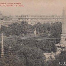Postales: POSTAL - ESPAÑA - MADRID - 686.- JARDINES DEL PRADO - CASTAÑEIRA - C.A.. Lote 199448283