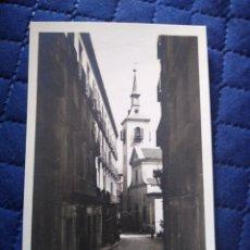Postales: 0281 MADRID. CALLE BORDADORES E IGLESIA DE SAN GINÉS. LOTY FOTÓGRAFO. . Lote 199481001