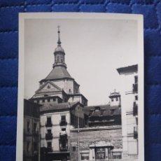 Postales: 193 MADRID. CALLE DE SEGOVIA Y FUENTE PUBLICA. LOTY FOTÓGRAFO. . Lote 199486841