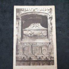 Postales: BASÍLICA DE SAN FRANCISCO, SEPULCRO DEL BEATO RAMÓN LULL. Lote 199837817
