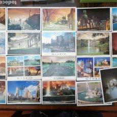 Postales: MADRID, LOTE DE 20 POSTALES. Lote 199847657