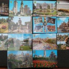 Postales: MADRID, LOTE DE 14 POSTALES. DOMINGUEZ. Lote 199848740