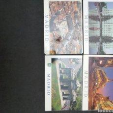 Postales: MADRID, LOTE DE 4 POSTALES. MUNDIGRAFIS. Lote 199850148