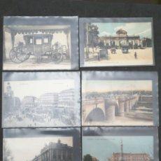 Postales: MADRID, LOTE DE 6 POSTALES. Lote 199852960