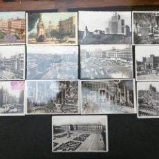 Postales: MADRID, LOTE DE 13 POSTALES. Lote 199854670