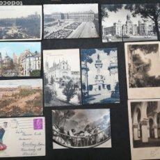 Postales: MADRID, LOTE DE 11 POSTALES CON HISTORIAS. Lote 199857293