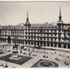 Postales: ESPAÑA MADRID PLAZA MAYOR 1958. Lote 200134902