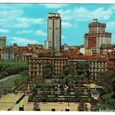 Postales: MADRID PLAZA DE ORIENTE Nº 191 GARCIA GARRABELLA - ESCRITA NO CIRCULADA - AÑOS 60. Lote 200287672