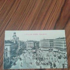 Postales: POSTAL MADRID. PUERTA DEL SOL. C, A Y L. SC. Lote 200357607