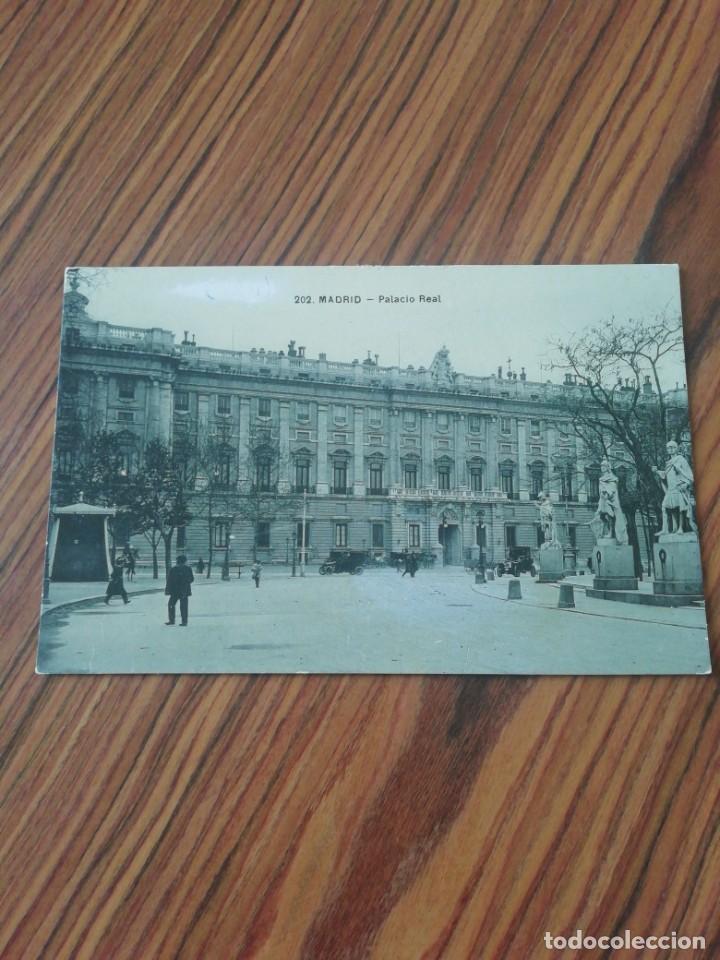 POSTAL MADRID. PALACIO REAL. UNIÓN POSTAL UNIVERSAL. SC (Postales - España - Comunidad de Madrid Antigua (hasta 1939))