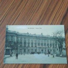 Postales: POSTAL MADRID. PALACIO REAL. UNIÓN POSTAL UNIVERSAL. SC. Lote 200358137