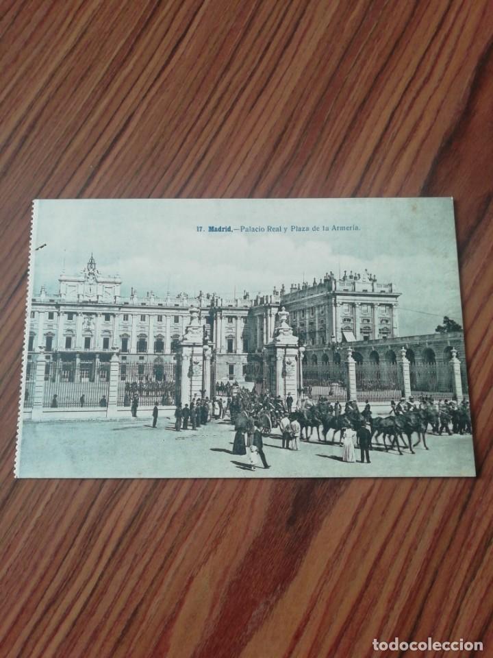 POSTAL MADRID. PALACIO REAL Y PLAZA DE LA ARMERÍA. LACOSTE. SC (Postales - España - Comunidad de Madrid Antigua (hasta 1939))