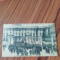 Postales: POSTAL MADRID. PALACIO REAL Y PLAZA DE ARMAS. HAUSER Y MENET. SC. Lote 200362870