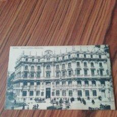 Postales: POSTAL MADRID. BANCO HISPANO AMERICANO. HAUSER Y MENET. SC. Lote 200363317