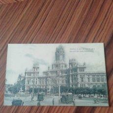 Postales: POSTAL MADRID. PLAZA DE CASTELAR Y PALACIO DE COMUNICACIONES. HAUSER Y MENET. SC. Lote 200363793