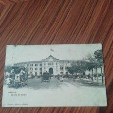 Postales: POSTAL MADRID. PLAZA DE TOROS . HM. CIRCULADA. Lote 200364833