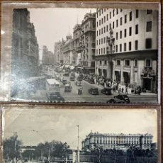 Postales: DOS POSTALES. 1903/1952 MADRID-PAISES BAJOS. GRAN VIA/ PALCIO REAL. Lote 202370190