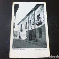 Postales: ALCALÁ DE HENARES MADRID CASA DE LOS LIZANAS. Lote 203794758
