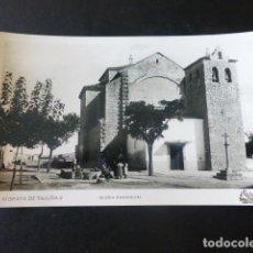 Postales: MORATA DE TAJUÑA MADRID IGLESIA PARROQUIAL. Lote 203796166