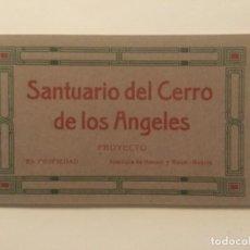 Postales: SANTUARIO DEL CERRO DE LOS ANGELES - PROYECTO - HAUSERY MENET - 6 POSTALES - SIN CIRCULAR. Lote 203811130