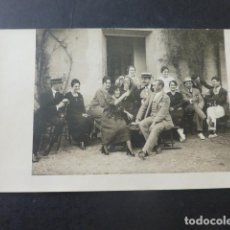 Postales: TORRELAGUNA MADRID GRUPO POSTAL FOTOGRAFICA HACIA 1918 E. VERA MARRON FOTOGRAFO. Lote 204064243