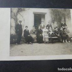 Postales: TORRELAGUNA MADRID GRUPO POSTAL FOTOGRAFICA HACIA 1918 E. VERA MARRON FOTOGRAFO. Lote 204064305