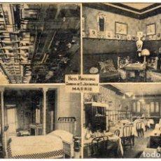 Postales: BONITA POSTAL - MADRID - HOTEL MONTECARLO. Lote 204474551