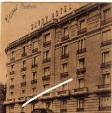 Postales: BONITA Y RARA POSTAL - MADRID - SAVOY HOTEL - FACHADA. Lote 204502351