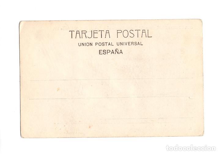 Postales: MADRID.- COMITIVA REGIA JURA DE ALFONSO XIII. COCHE DE CIFRA CON ALTA SERVIDUMBRE. COLECCIÓN DAJE. - Foto 2 - 232670685