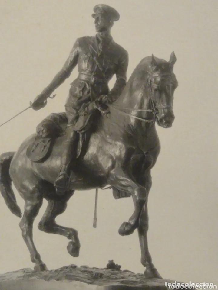 Postales: Postal fotigrafica escultura ecuestre Rey Alfonso XIII. Kaulak. Madrid - Foto 2 - 204765901