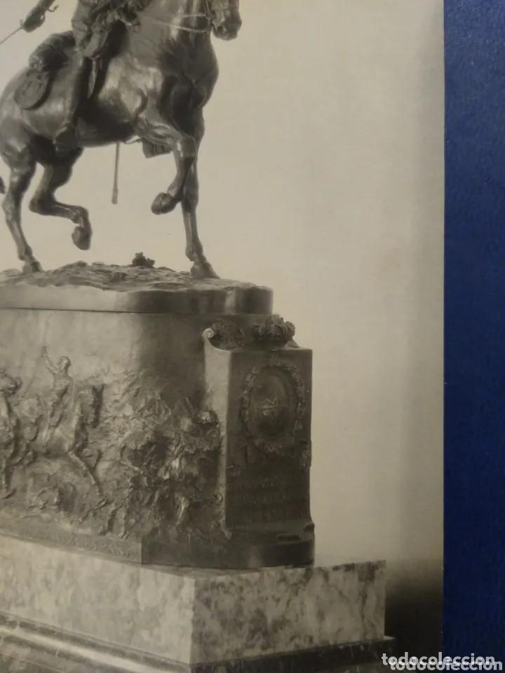 Postales: Postal fotigrafica escultura ecuestre Rey Alfonso XIII. Kaulak. Madrid - Foto 3 - 204765901