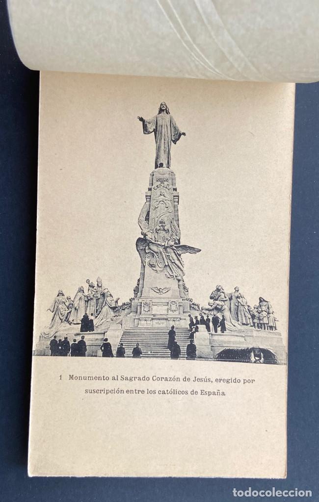 Postales: GETAFE.(MADRID).- BLOCK 20 POSTALES. SAGRADO CORAZÓN DE JESÚS. CERRO DE LOS ANGELES, ALFONSO XIII. - Foto 2 - 204805303