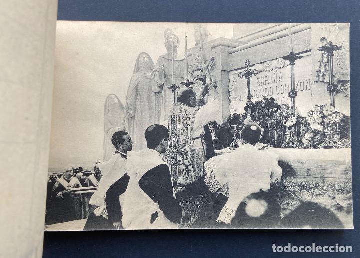 Postales: GETAFE.(MADRID).- BLOCK 20 POSTALES. SAGRADO CORAZÓN DE JESÚS. CERRO DE LOS ANGELES, ALFONSO XIII. - Foto 6 - 204805303