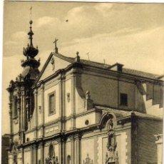 Postales: BONITA POSTAL - MADRID - IGLESIA DE MONTSERRAT - CALLE ANCHA. Lote 205136752