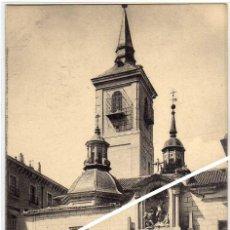 Postales: MAGNIFICA POSTAL - MADRID - IGLESIA SAN SEBASTIAN. Lote 205141286