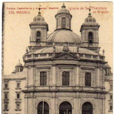 Postales: BONITA POSTAL - MADRID - IGLESIA DE SAN FRANCISCO EL GRANDE. Lote 205141801
