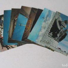 Postales: 9 POSTALES DEL VALLE DE LOS CAIDOS GRAN TAMAÑO 22X16 CM.. Lote 205173587